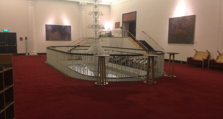 Case study for commercial carpet cleaning - National Concert Hall Upstairs