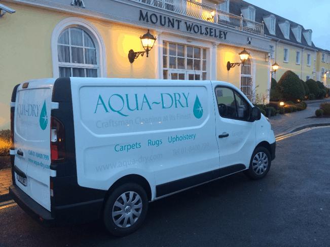 Aqua Dry - Carpet Cleaning - Mount Wolsley Tullow