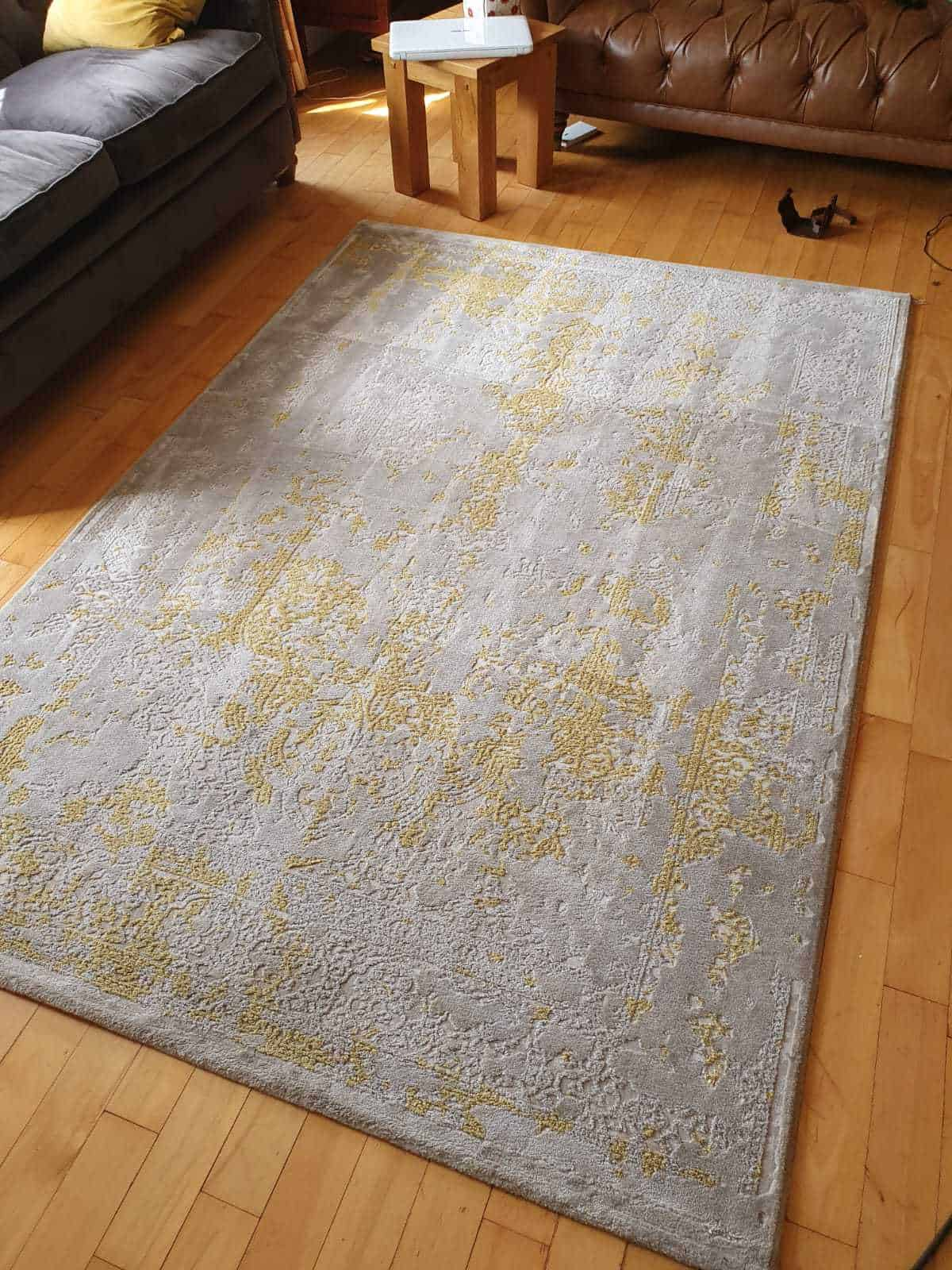 After photo of a recent rug cleaning job